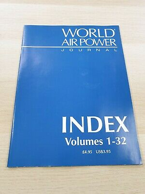 £3.99 • Buy World Air Power Journal: Index Volumes 1-32 Military Aircraft Aerospace 1998