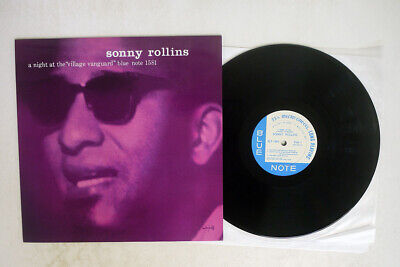£7.56 • Buy Sonny Rollins A Night At Village Vanguard Blue Note Blp 1581 Us Heavy Weight Lp
