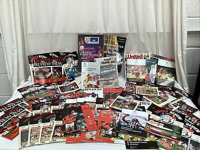 £9.95 • Buy Job Lot Bundle Manchester United Football Programmes 1992-2002 Manchester Review