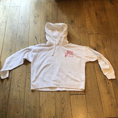 £3 • Buy Jack Wills White Cropped Hoodie Size 10