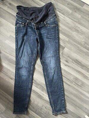£1.20 • Buy H&M Skinny Maternity Over Bump Jeans Size L