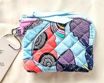 $13.90 • Buy Vera Bradley Coin Purse In BUTTERFLY BY, New 2021 Recycled Cotton Collection