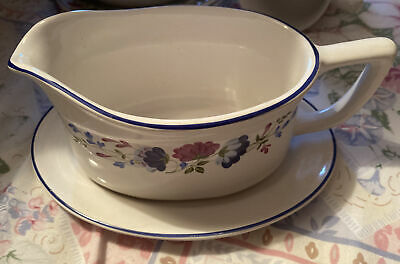 £12 • Buy Gravy Boat And Saucer -Priory - British Home Stores - Free Post UK