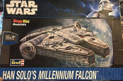 $68.99 • Buy REVELL STAR WARS Han Solo's Millennium Falcon Model Kit 85-1854  Parts Sealed