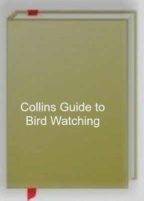 £6.44 • Buy Collins Guide To Bird Watching, Fitter, R. S. R., Very Good Book