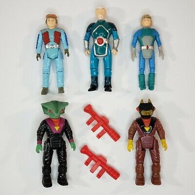 £0.71 • Buy 1987 TYCO Dino Riders Action Figure Lot Of 5 With Heroes, Rulons & Weapons