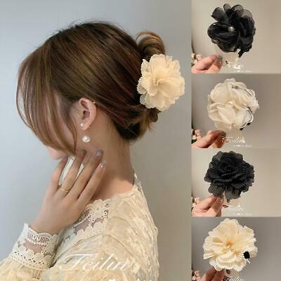 £2.45 • Buy Fashion And Popular Cute Flower Pearl Clip Headdress Girl Accessories Decorat NW