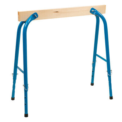 AU76.32 • Buy 650mm 900mm Height Adjustable Trestle Wood Workbench Extension Support Stand
