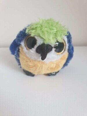 £1.99 • Buy Yoohoo And Friends Parrot Soft Toy Plush Blue Yellow Ball Gold Glitter Large Eye