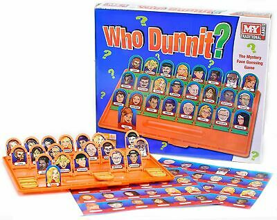 £5.99 • Buy M.Y Traditional Family Board Games, Children's Holiday Party Fun, Who Dunnit
