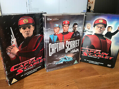 £14.95 • Buy DVD ITV Captain Scarlet + NEW All Series Complete 3 X Box Sets Gerry Anderson