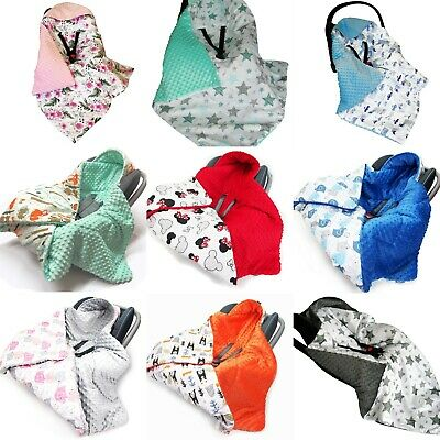 £25.99 • Buy Warm HOODED CAR SEAT PADDED BABY BLANKET *COVER *COSYTOES * PUSHCHAIR * UK Stock