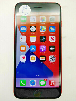 AU319.68 • Buy Apple IPhone 8 Plus A1897 Red 64GB Unlocked Check IMEI Fair Condition -LR0200