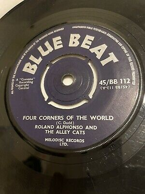 """£29.99 • Buy Roland Alphonso - Four Corners Of The World - Blue Beat - 7"""" - 45/BB 112"""