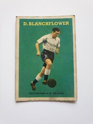 £3.99 • Buy A&BC GUM FOOTBALL CARDS - 1959 RED BACKS - No.82 Danny Blanchflower Spurs