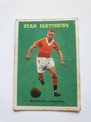 £3.99 • Buy A&BC GUM FOOTBALL CARDS - 1959 RED BACKS - No.85 Stanley Matthews Blackpool