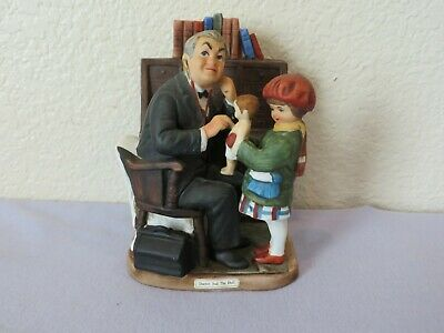 $ CDN18.61 • Buy Vintage Norman Rockwell Doctor And The Doll Figurine Dave Grossman 1979