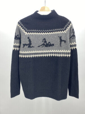 $1675 • Buy The Elder Statesman Cashmere  Sex  Sweater Size M Made In The USA