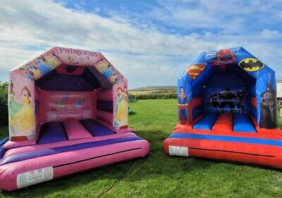 £55 • Buy 🌈 LOOK⭐Princess & Superhero Bouncy Castle Hire On Anglesey ONLY£55 For 24 Hours