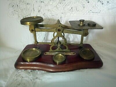 £22 • Buy Vintage Post Office Scales   I Land, Letter Rates  With Weights