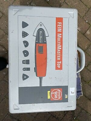 £50 • Buy Fein Multi Master Msxe 636 II 240v With Accessories And Carry Case.