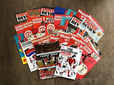 £3.99 • Buy Manchester United Mixed Bundle Of 40+ HOME Programmes From 1970s/1980s - Fair