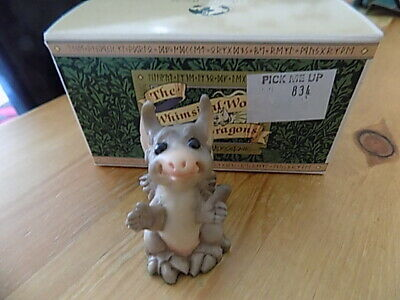 £8.50 • Buy Pocket Dragon Pick Me Up (rare) (boxed) By Real Musgrave