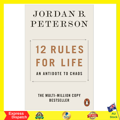 AU16.50 • Buy 12 Rules For Life: An Antidote To Chaos By Jordan B. Peterson | PAPERBACK BOOK