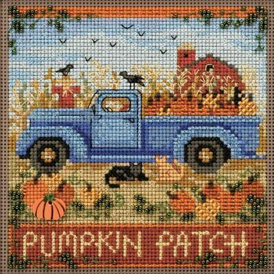 $12.99 • Buy Mill Hill Autumn Buttons & Beads Counted Cross Stitch Kit ~ Old Time Harvest ~