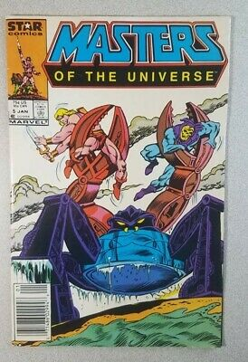 $1.04 • Buy Masters Of The Universe #5 Marvel Star Comics 1986 He-Man