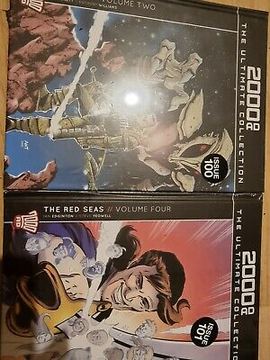 £10 • Buy 2000ad Ultimate Collection The Red Seas Vol 4 The Vc,s Vol2