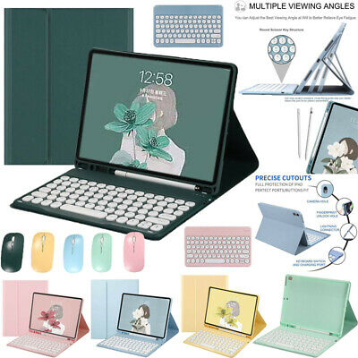 AU39.49 • Buy For IPad 5 6 7 8th Pro Air 1 2 3 4  Bluetooth Keyboard Leather Smart Case Cover