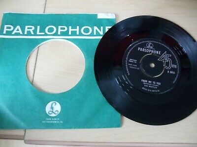 £10 • Buy The Beatles,45 Rpm, Excellent Condition,parlophone, From Me To You,1963