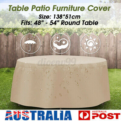 AU15.23 • Buy Outdoor Furniture Round Cover Dustproof Patio Garden Table Chair Shelter