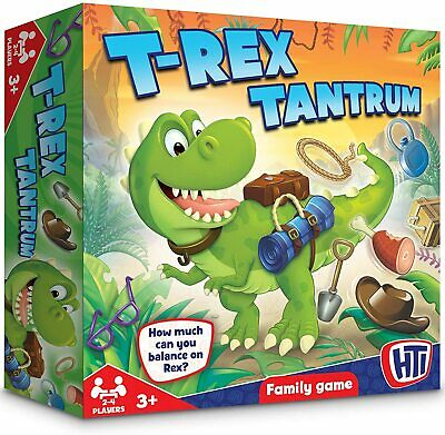 £9.99 • Buy Traditional Family Board Games, Children's Holiday Party Fun, T Rex Tantrum