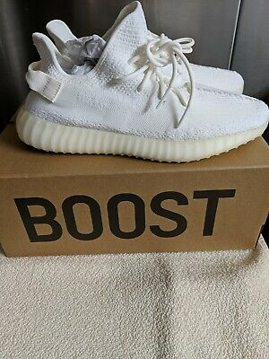 AU260 • Buy New Adidas Yeezy 350 V2 Cream White Cp9366 Brand New In The Box Us 12