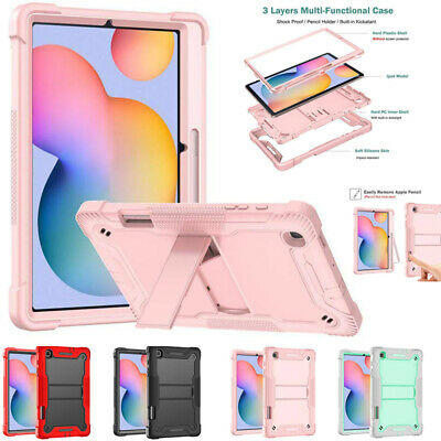 AU21.79 • Buy For Samsung Galaxy Tab S6 Lite 10.4  P610 Case Shockproof Stand Cover W/Pen Slot