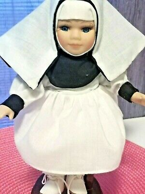 $ CDN37.43 • Buy Vintage Porcelain Small Beautiful Nun Doll Approx. 8  EUC (stand Not Included)