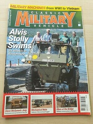£8.99 • Buy Classic Military Vehicle Magazine Issue 212 January 2019 Alvis Stolly Swims Jeep
