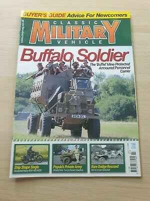 £8.99 • Buy Classic Military Vehicle Magazine Issue 226 March 2020 Buffel BSA WD M20 WC-6