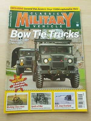 £8.99 • Buy Classic Military Vehicle Magazine Issue 208 September 2018 CMP Chevrolets
