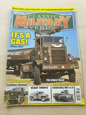 £8.99 • Buy Classic Military Vehicle Magazine Issue 153 February 2014 It's A Gas Scammell
