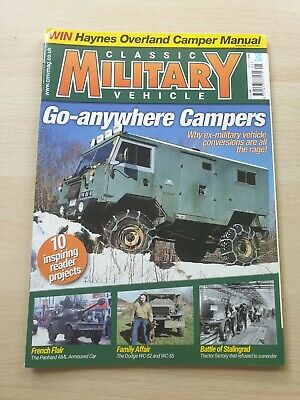 £8.99 • Buy Classic Military Vehicle Magazine Issue 228 May 2020 Ex-Military Campers WC-52