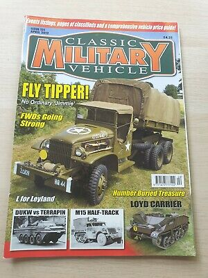 £8.99 • Buy Classic Military Vehicle Magazine Issue 131 April 2012 Fly Tipper Leyland DUKW