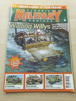 £8.99 • Buy Classic Military Vehicle Magazine Issue 219 August 2019 WWII Jeep Humvee D-Day