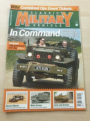 £8.99 • Buy Classic Military Vehicle Magazine Issue 206 July 2018 Dodge WC56 D-Day 74th Ann