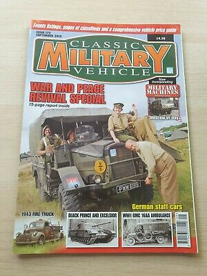 £8.99 • Buy Classic Military Vehicle Magazine Issue 172 September 2015 1943 Fire Truck GMC