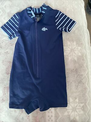 £2 • Buy Boys Swim Costume All In One Age 1-2