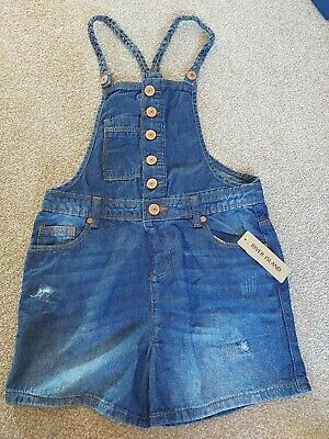 £3.50 • Buy BNWT Girls River Island Short Dungarees Age 7-8