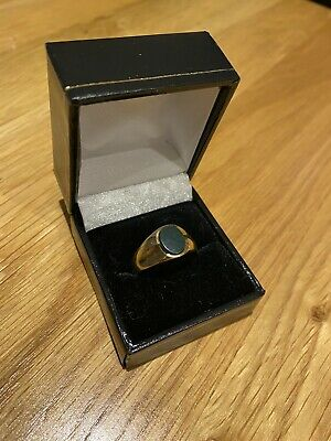 £150 • Buy 9ct  Solid Gold Ring Blood Stone